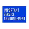 service-anouncement