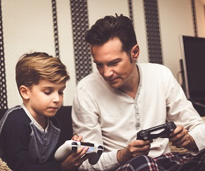 How to turn on parental controls for gaming, media services image