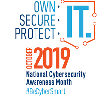 Own IT, Secure IT, Protect IT: Cyber Security Awareness Month image