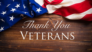 Veterans: we honor and thank you image