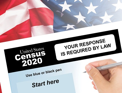 More than 63% of all household have responded to 2020 Census image